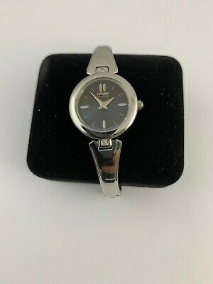 citizen eco drive womens watch stainless steel band