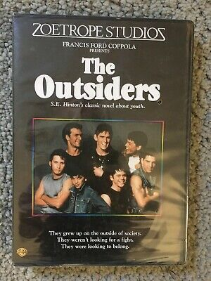 The Outsiders (1983) [New DVD] Full Frame, Sealed, Subtitled, Widescreen,