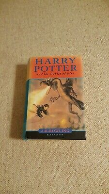 Harry Potter and the Goblet of Fire by J. K. Rowling First Edition. 1st edt JK