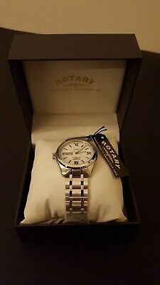 8e4c2dde3894 ROTARY GENTS SWISS Made Legacy Day Date Watch (Model No. Gb90173 01 ...