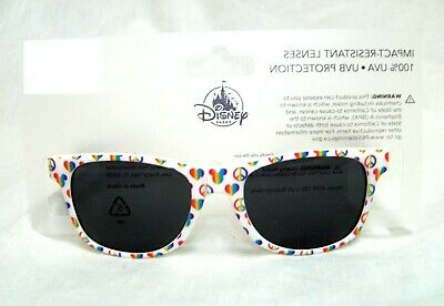 6e95d0cc18928 Disney Parks Sunglasses Mickey Mouse White Peace 100% UVA Protection ~ NIP