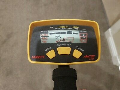 Garret Ace 150 Metal Detector Not Minelab