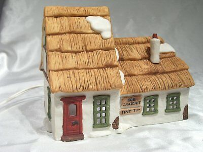 "Dept 56 Dickens' Village ""The Cottage of Bob Cratchit & Tiny Tim"" Item 65005"