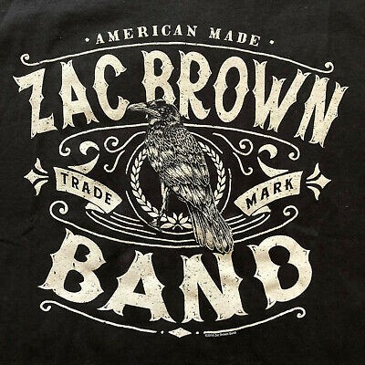 ead8a969216 Zac Brown Band T-Shirt NWT Bird Official Licensed American Country Music  Tee XL