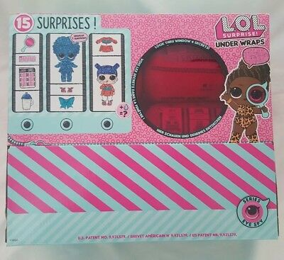 New Unopened Lol Surprise Under Wraps Doll Series 4 Wave 2 Case Box 12 Count
