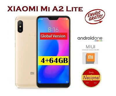 "XIAOMI Mi A2 Lite 4+64GB 5,84"" Notch Android One Movil VERSION GLOBAL Español"