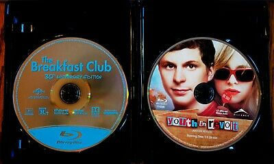 The Breakfast Club - 30th Anniversary Edition + Youth in Revolt - Blu-ray Lot