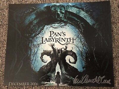 GUILLERMO DEL TORO SIGNED AUTOGRAPHED PAN's LABYRINTH DIRECTOR 8x10 PHOTO