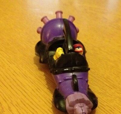 WACKY RACES Toy Car Mean Machine DICK DASTARDLY+Muttley 1996 Burger King