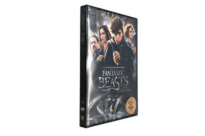 Fantastic Beasts and Where to Find Them - Blu-Ray Region 1 Free Shipping!2