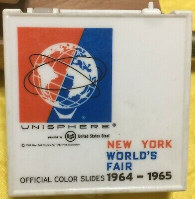 1964 - 1965 New York Worlds Fair Slide Viewer Unisphere