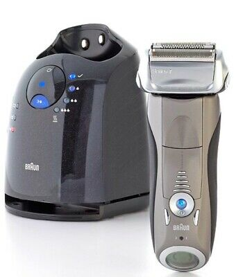 BRAUN 799CC Rechargeable Clean & Renew Cordless Electric Shaver £329rrp NEW 799