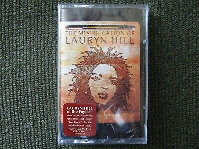 The Miseducation Of Lauryn Hill Rare Sealed Cassette Tape Old Store Stock Rap