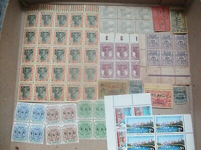 ESTATE: Old World mint accumulation in box unchecked unsorted Great  (s368)