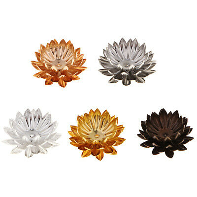 Flower Flatback Button Copper Crafts Beads Charms Jewelry Accessory Ornament