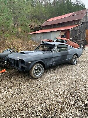 1966 Ford Mustang  1966 Fastback Mustang