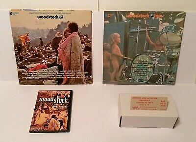 Woodstock 1 & 2 Vinyl LPs + Movie & Original Ticket for Saturday, Aug. 16, 1969