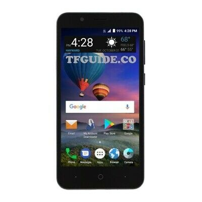 ZTE ZFIVE C LTE Android Smartphone A++ Condition! Never Used!