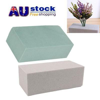 AU Wet Floral Foam Block Brick Florist Craft Fresh Flower Display DIY Crafts