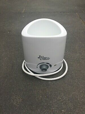 Closer To Nature Bottle Warmer white in good condition