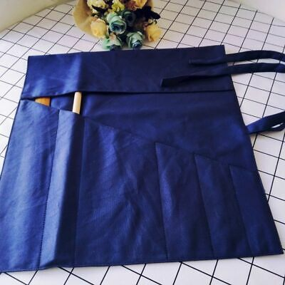 6 Pocket Japanese Chef Knife Roll Bag Canvas Knife Roll Carry Case Chef Wallet