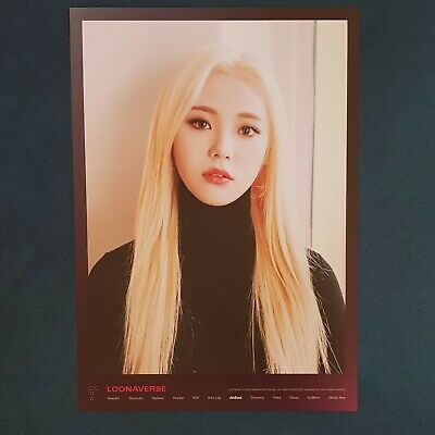Jin Soul - Loona Mini Poster Loonaverse Concert Official MD Monthly Girl