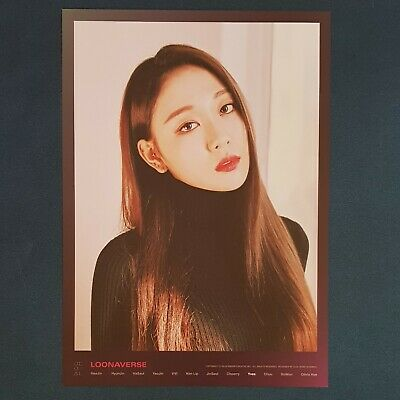 Yves - Loona Mini Poster Loonaverse Concert Official MD Monthly Girl