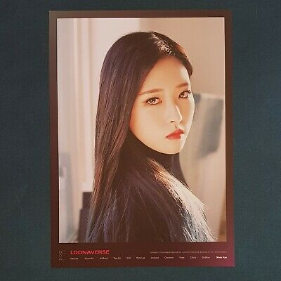Olivia Hye  - Loona Mini Poster Loonaverse Concert Official MD Monthly Girl
