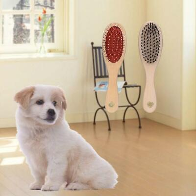 Dog Cat Hair Grooming Fur Shedding Cleaning Comb Tool Double Sided Pet Brush J