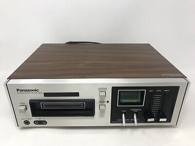 NICE! Vintage Panasonic RS-805US 8 Track Player Stereo Record Deck