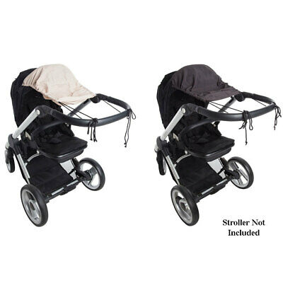 Playette Baby Infant Stroller Sunshade UPF50 Protection for Pram Sun Shade