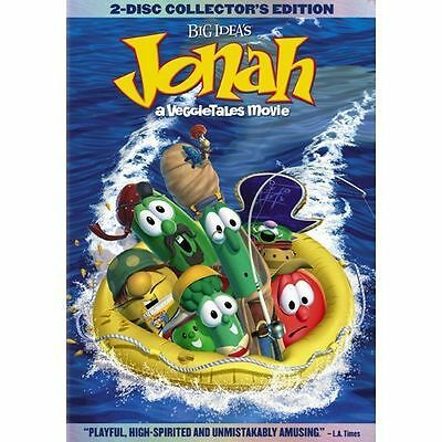 Jonah: A Veggie Tales Movie (DVD) - **DISC ONLY**