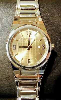 Kenneth Cole Mens Watch (New York Collection) Mink Dial, KC3573MK 50M Water Res.