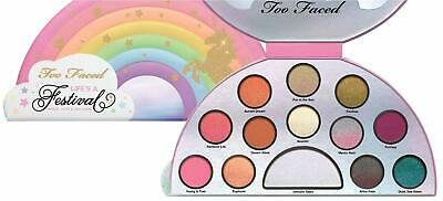 Too Faced Life's A Festival Eyeshadow Palette Limited Edition NEW