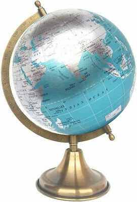 Rotating World Globe Desktop Table & Office Decor Educational Accessories Gift