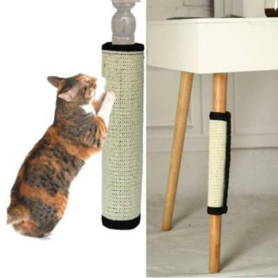 Small Cat Kitten Sisal Scratch Post Toy With Tunnel & Play Mouse Pet Activity DS