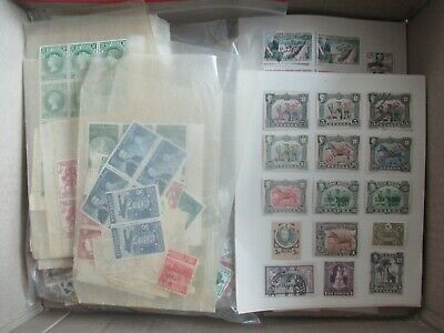 ESTATE: World in box unchecked unsorted noted Mint Pre decimal - GREAT (b239)