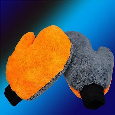 Super Glove Car Van Surface Dust Cleaning Washing Noodle Mitt Gloves DS