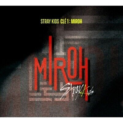 Stray Kids-[Cle 1:Miroh] Noraml 2 Ver SET CD+Poster+Book+Card+Post+Gift+PreOrder