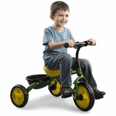 John Deere Ride On Pedal Trike Tricycle Bike Scooter Kids Children Toddler Toy