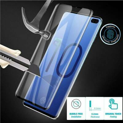 Samsung Galaxy S10 S10e S9 S8 Plus Note 8 9 Screen Protector 9D Full Cover Glass