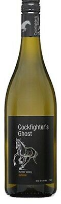 Cockfighters Ghost Semillon 750mL ea - White Wine - Origin Australia