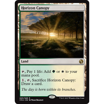 MTG ICONIC MASTERS * Horizon Canopy (Foil) - Condition: Good