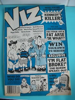 Viz Comic. issue No 34, Feb/March.1989. UK Published