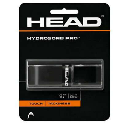 Head HydroSorb Pro Replacement Grip w/ Touch/Tackiness f/ Rackets/Racquets BLK