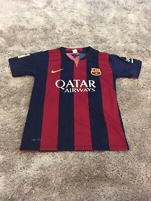 FC Barcelona Football Shirt Messi 10 - Children's Kids Youth Size 9-10 Years