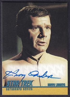 Star Trek Quotable Tos Autograph  Harry Landers As Dr. Coleman A92