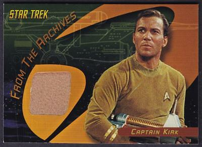 Star Trek Quotable Tos  Captain Kirk Case Topper Costume Card C1