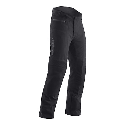 RST Raid Textile Motorcycle Riding Jeans - CE APPROVED - Black/Black