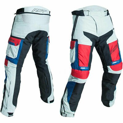 RST Pro Series Adventure III CE Textile Trousers Ice / Blue / Red - 44